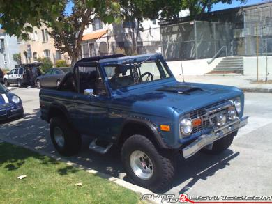 1973 Ford Bronco II XL