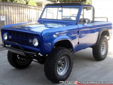 ford bronco restoration 1966 1977 broncos for sale autos post. Black Bedroom Furniture Sets. Home Design Ideas