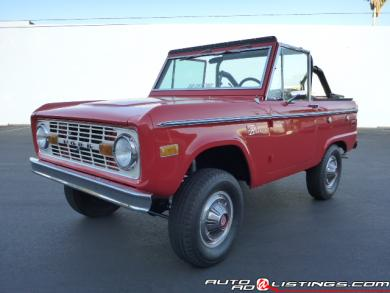 1972 Ford Bronco XLT Sport